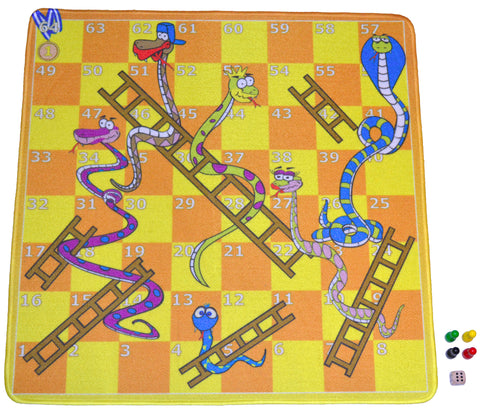 'Robbie Toys Game Mat - Snakes & Ladders