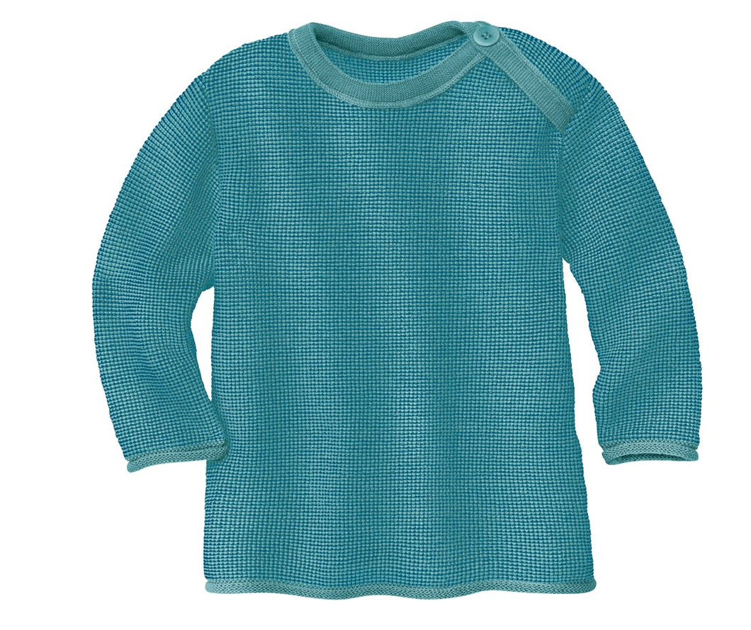 New Disana Baby Melange Sweater, Organic Merino Wool