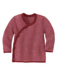 New Disana Baby Melange Sweater Jacket, Wool Knit