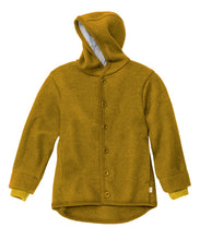 Disana Baby Hooded Jacket with cuffs, Organic Merino Boiled Wool - SALE 30% off