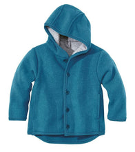 Disana Baby/Child Hooded Jacket, Boiled Wool