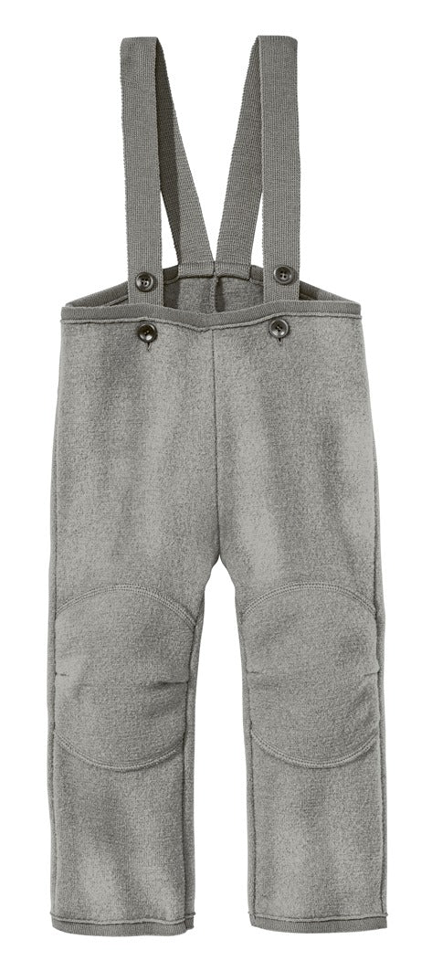 Disana Toddler/Child Trousers with Straps, Boiled Wool