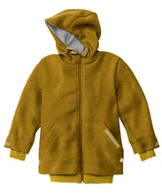 New Disana Child Jacket with Hood, Boiled Wool