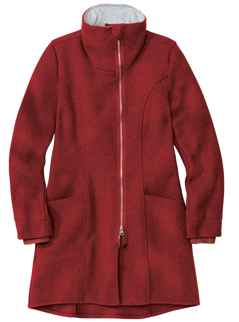 New Disana Women's Coat, Boiled Wool