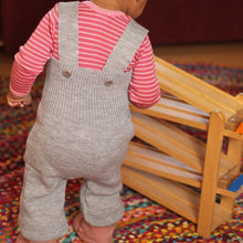 Disana Baby/Toddler Pants with Straps, Knitted Wool