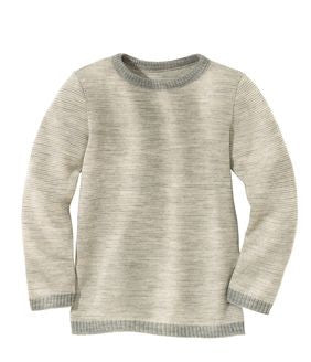 Disana Child Sweater, Melange Wool Knit - SALE