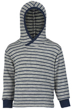 Engel Child Hooded Sweater, Organic Wool Terry