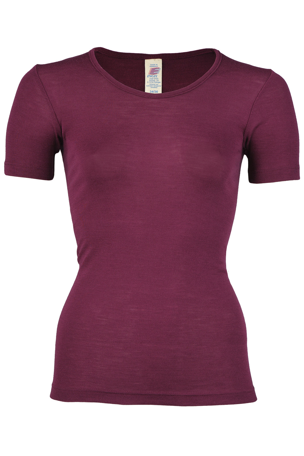 Engel Women T-Shirt, Wool/Silk - SALE