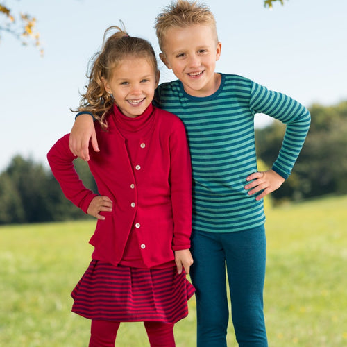 Engel Child Cardigan, Wool Silk