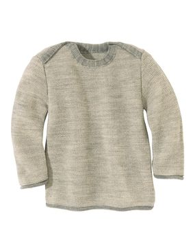 Disana Baby Melange Sweater, Wool Knit