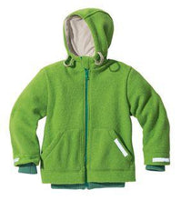 Disana Child Jacket with Hood, Boiled Wool - Sale 25% off