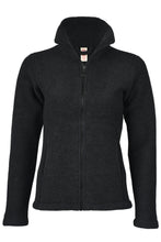 Engel Women Fitted Jacket, Wool Fleece