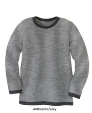 Disana Child Sweater, Melange Wool Knit