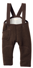 Disana Baby/Child Pants with Straps, Boiled Wool
