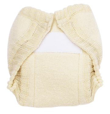 Disana Diaper Cover, Boiled Wool, Velcro Closure