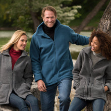 Engel Unisex Jacket, Wool Fleece With 2-Way Zipper
