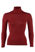 Engel Women's Turtle Neck, Merino Wool/Silk