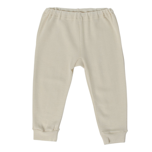 Hocosa Baby Longjohns Wool/Silk, Natural