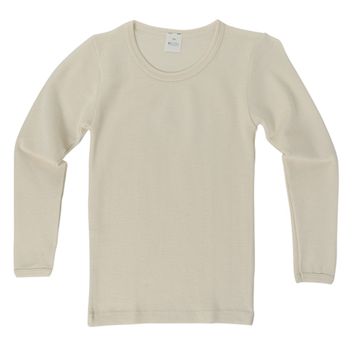Hocosa Child Long Sleeve Shirt, Wool/Silk