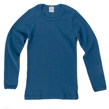 Hocosa Child Long Sleeve Shirt, Wool, Solid
