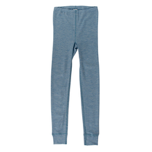 Hocosa Child Longjohn, Wool/Silk, Bluejean