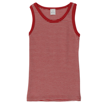 Hocosa Child Sleeveless Shirt, Wool, Striped
