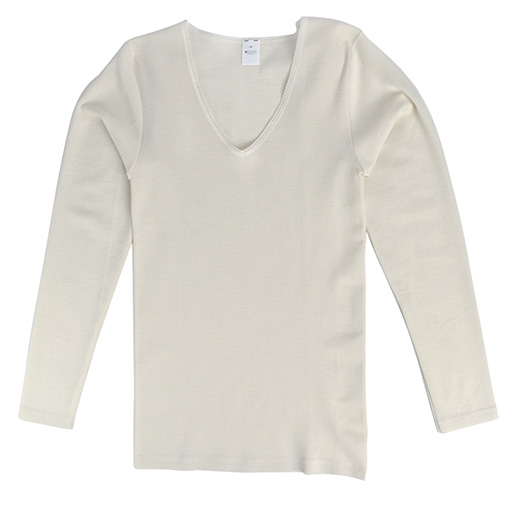 Hocosa Women Long Sleeve Shirt, Wool