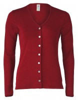 Engel Women Cardigan, Merino Wool/Silk