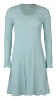 Engel Women Long Sleeve Nightgown, Merino Wool/Silk