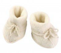 Engel Baby Booties, Wool Fleece