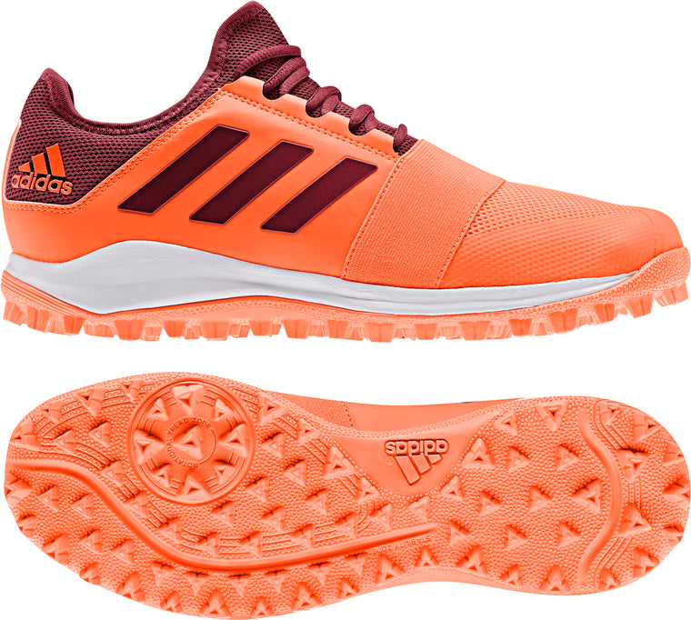Adidas Divox Hockey Shoe Orange