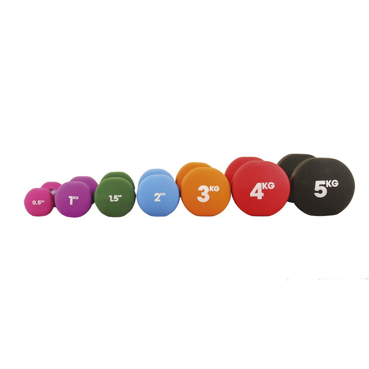 Fitness Mad Neoprene dumbells