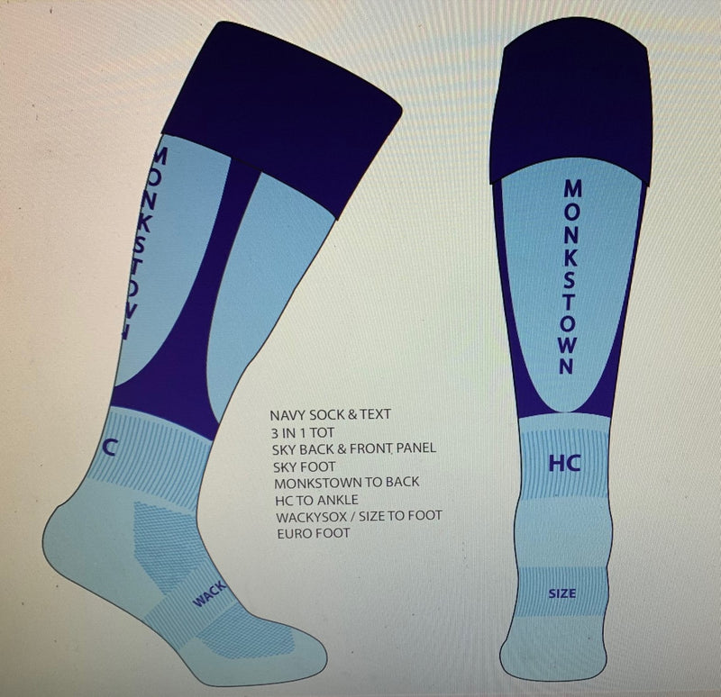 Monkstown Hockey Club socks Junior