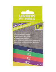 Urban Fitness Resistance Band Loop Set