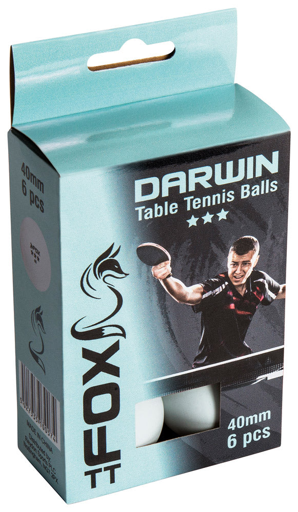 Fox TT Darwin 3 Star Table Tennis Balls