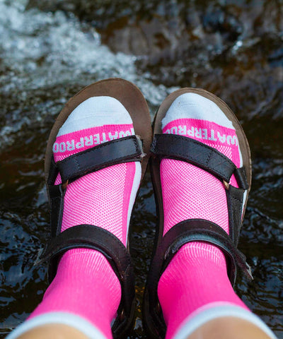 Lightweight Waterproof Socks-Crosspoint Brights