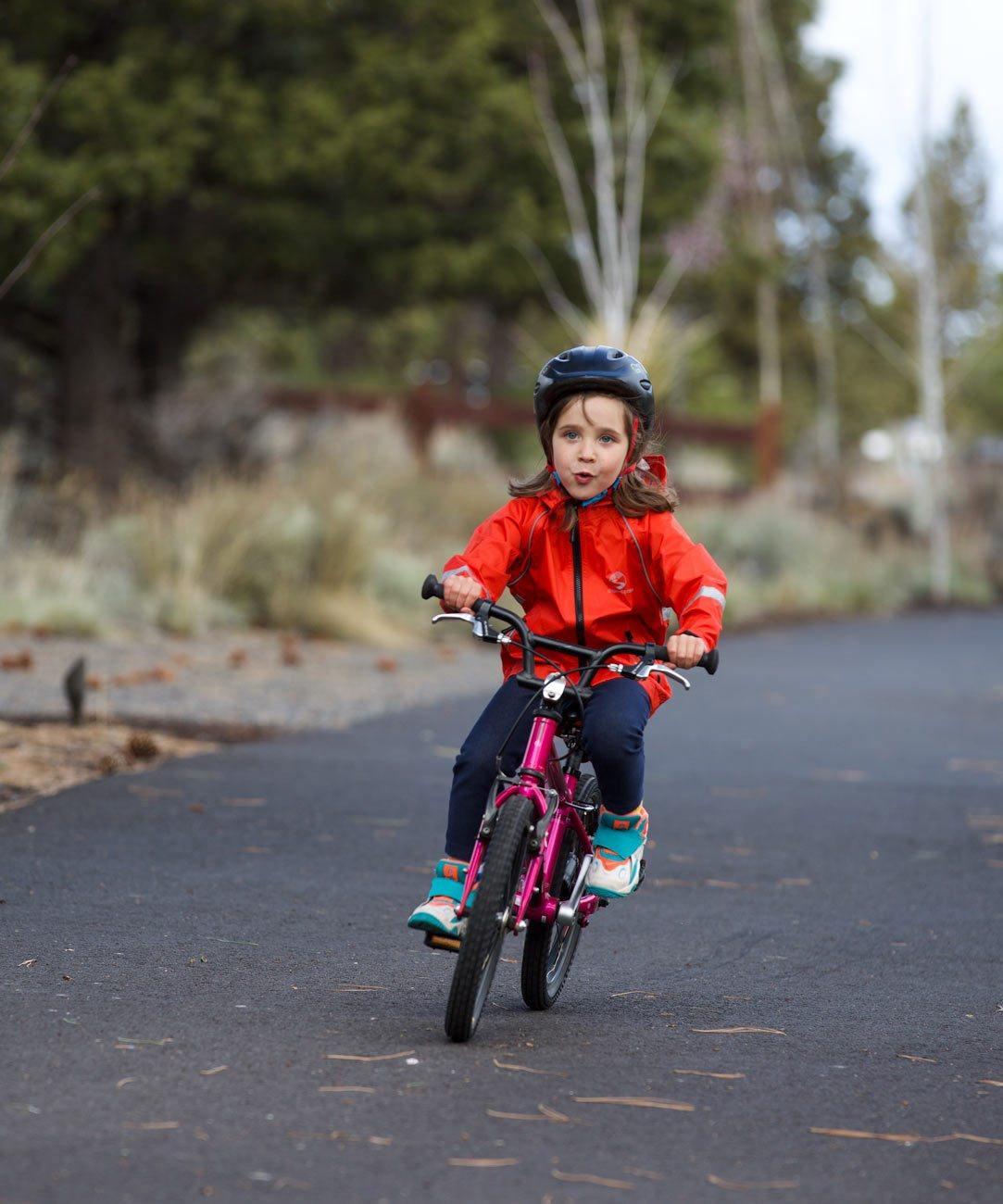 Little Crossover Cycling Rain Jacket - 2020