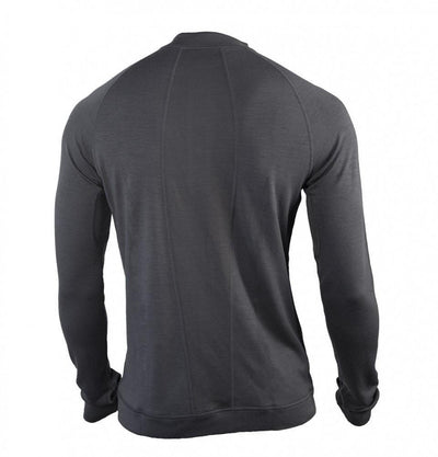 Men's Bamboo-Merino Sport Henley Shirt, Long Sleeve