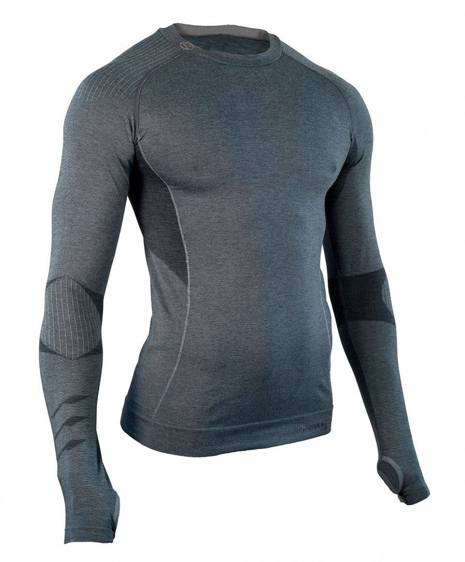Men's Body-Mapped Long Sleeve Baselayer