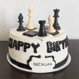 Birthday Cake - Chess