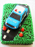 Birthday Cake - Police Car