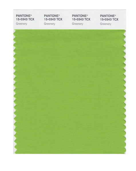 2017 Pantone Color of the Year - Greenery 15-0343