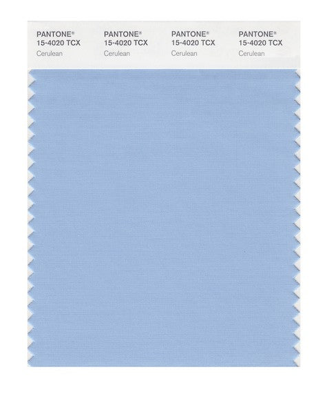 2000 Pantone Color of the Year - Cerulean 15-4020