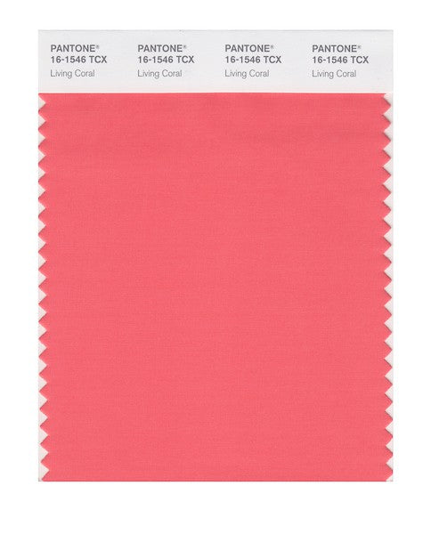 2019 Pantone Color of the Year - Living Coral 16-1546