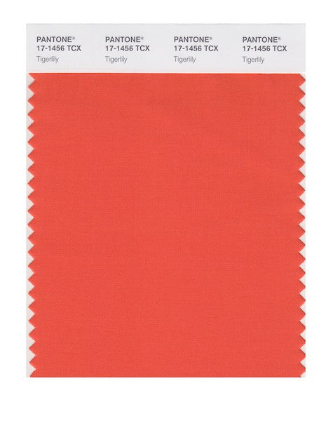 2004 Pantone Color of the Year - Tigerlily 17-1456
