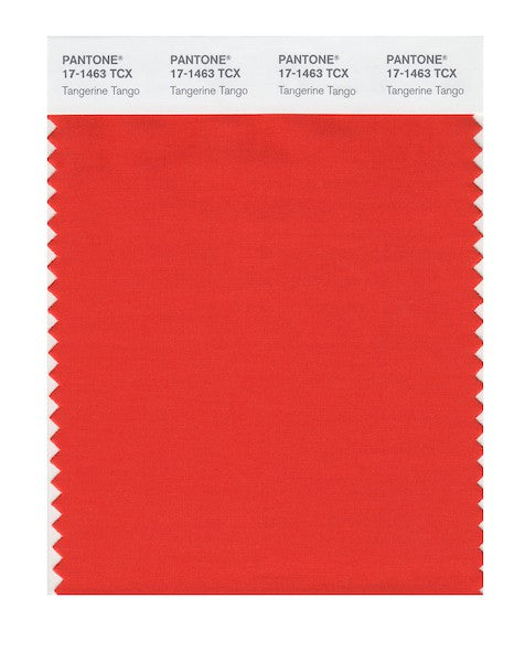 2012 Pantone Color of the Year - TangerineTango 17-1463