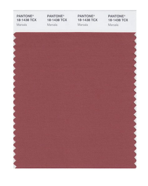 2015 Pantone Color of the Year - Marsala 18-1438
