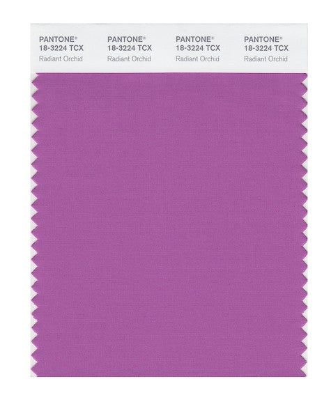 2014 Pantone Color of the Year - Radiant Orchid 18-3224