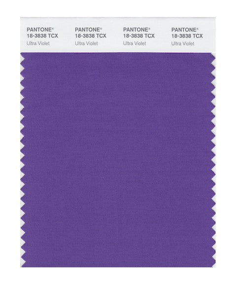 2018 Pantone Color of the Year - Ultra Violet 18-3838