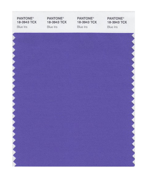 2008 Pantone Color of the Year - Blue Iris 18-3943